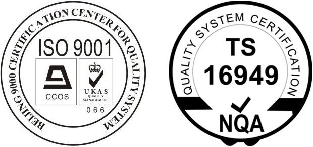 勒夫迈LUFTMY实施ISO9001和TS16949质量体系