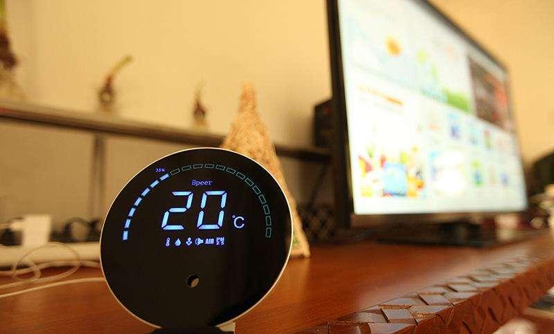 室内环境检测仪可以检测哪些数据-勒夫迈