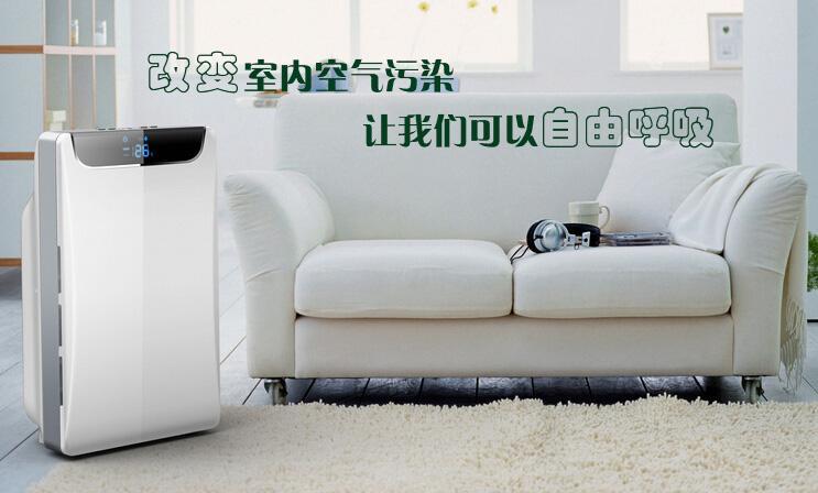 粉尘浓度传感器在空气净化器中的作用