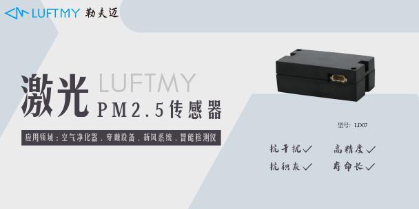 PM2.5的测试方法及PM2.5传感器的工作原理