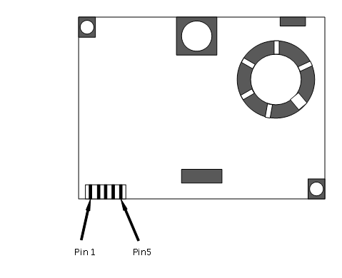 LD13C激光粉尘传感器接口定义