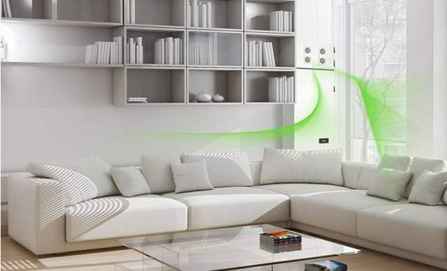 应用在新风系统中的PM2.5颗粒物传感器