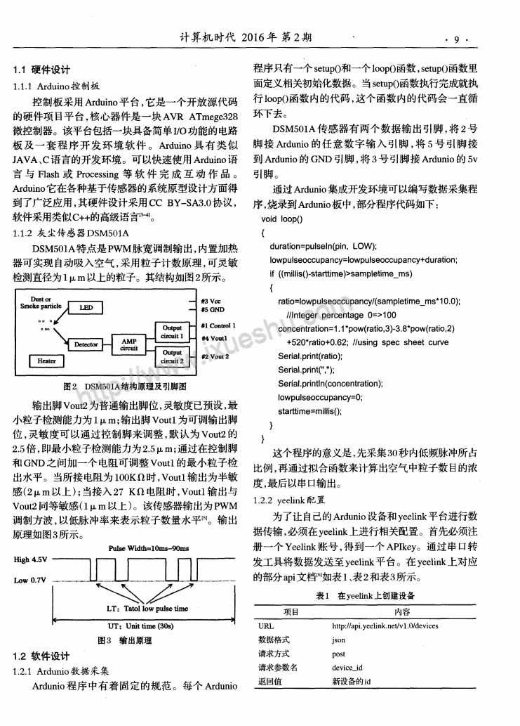 基于云平台的PM2.5污染物监测系统设计-P2