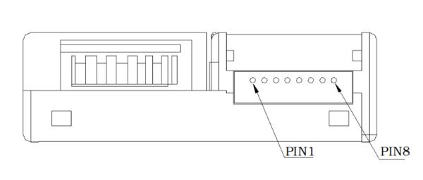 LD09激光粉尘传感器接口定义