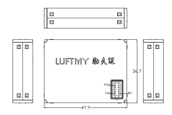 LD11激光粉尘传感器接口定义