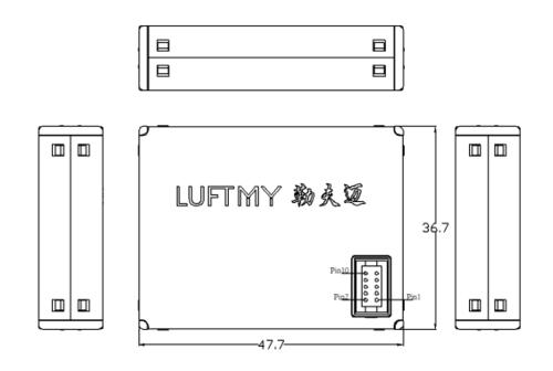 LD16激光粉尘传感器接口定义
