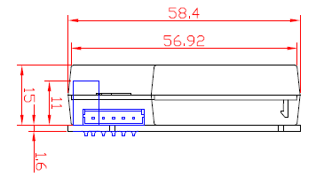 HPD05红外PM2.5传感器HPD051xxCH