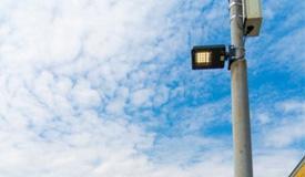 光学纳米传感器应用在普通路灯 监控空气环境污染