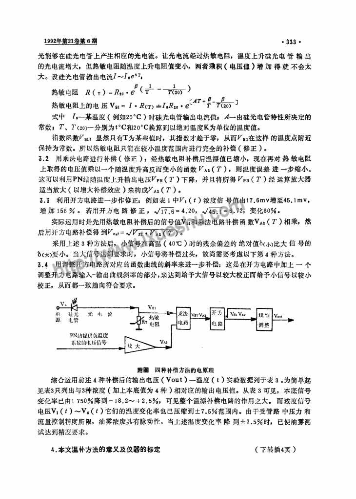 粉尘油雾检测中光电传感器的研究-P3