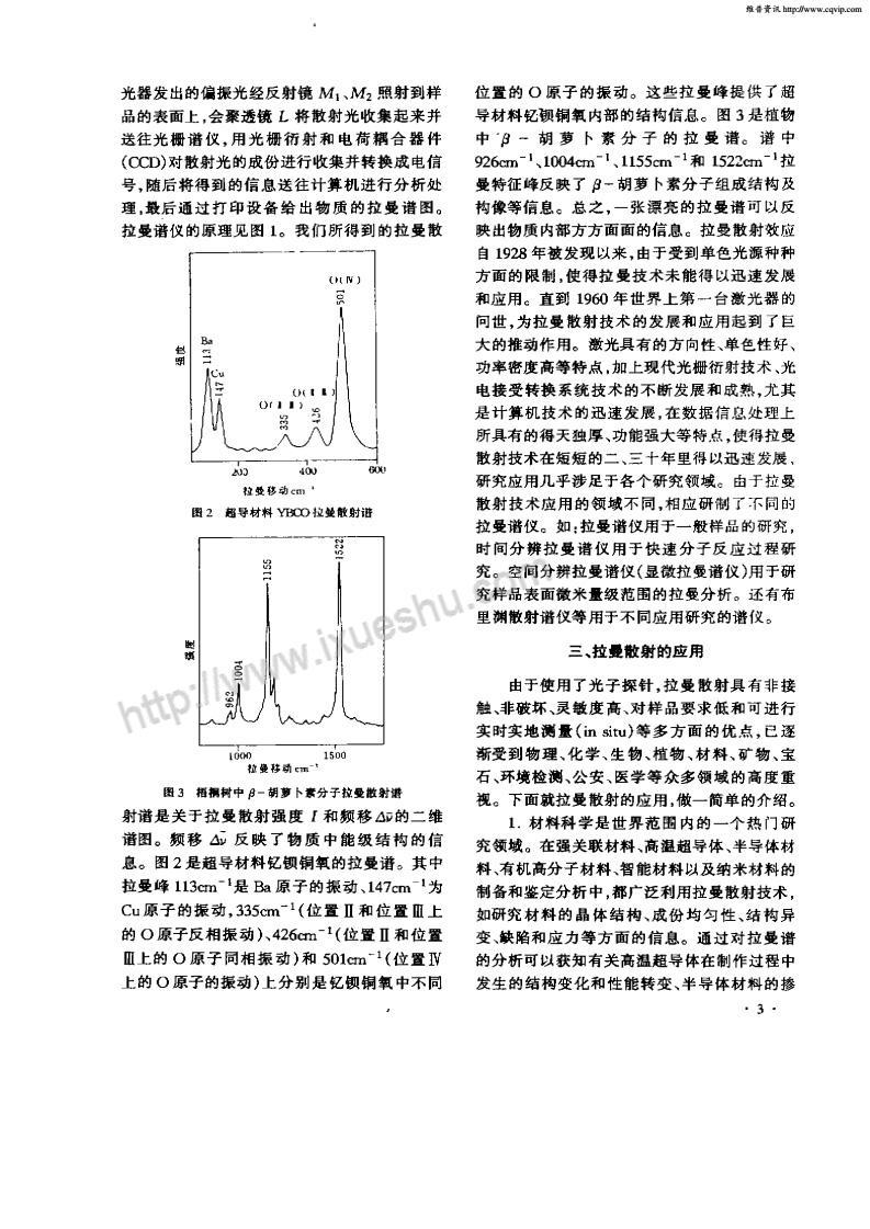 拉曼散射效应及应用-p2