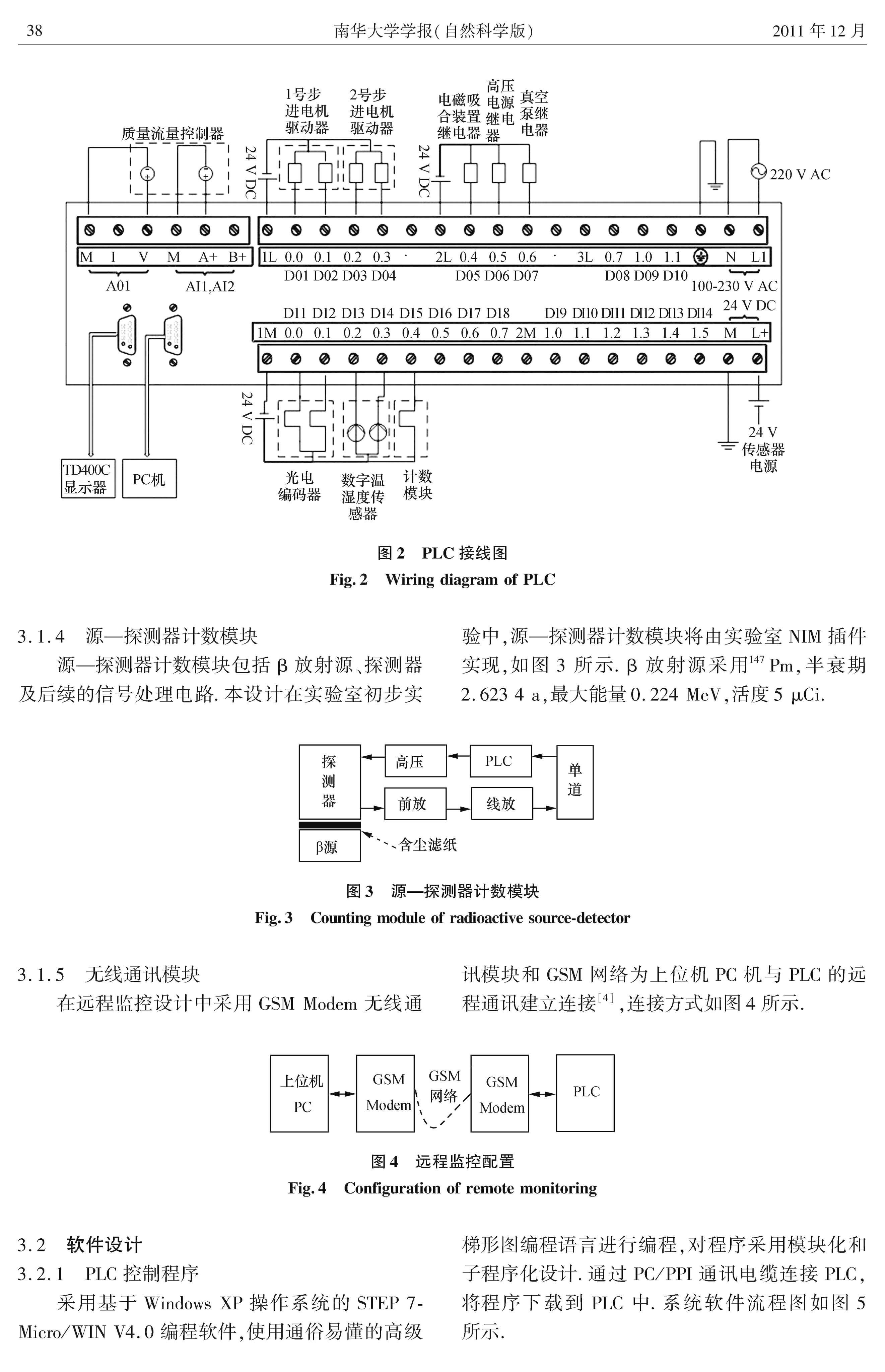 基于PLC的β射线吸收法粉尘浓度测量系统设计