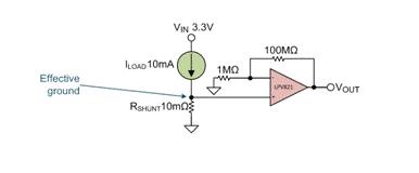 低侧差动电流测量