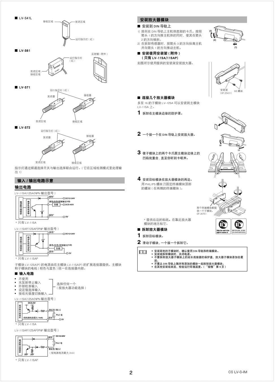 基恩士系列激光传感器-02