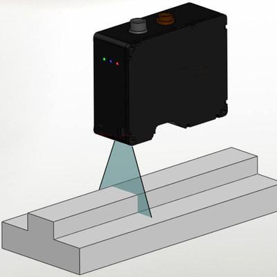 3D激光传感器原理图