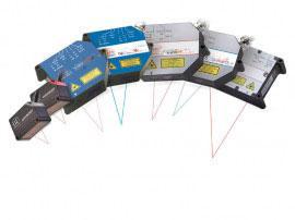 多种激光传感器型号