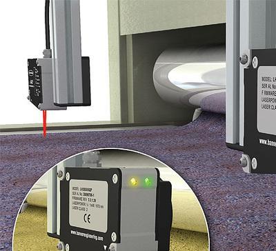 激光传感器非接触式测量