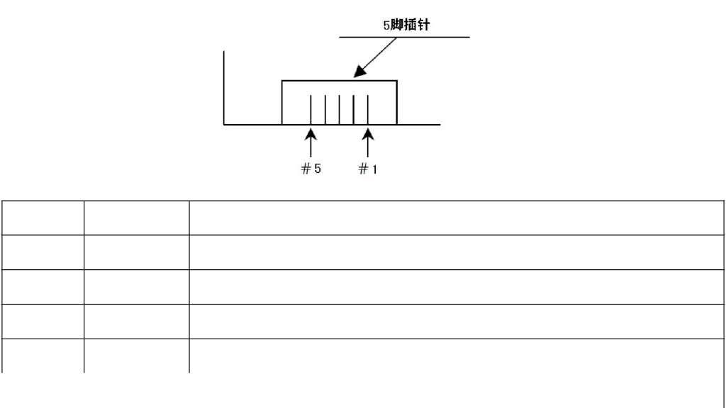 HPD05红外PM2.5传感器序号引脚描述