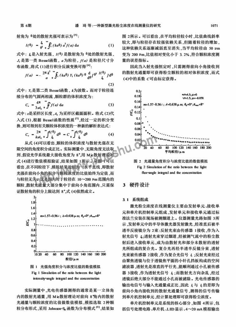 一种新型激光粉尘浓度在线测量仪的研究-P2