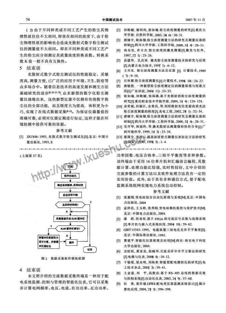 光散射式数字粉尘测试仪的标定及其应用-p3