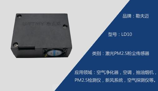 LD10激光PM2.5粉尘传感器