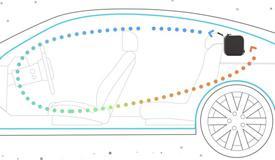汽车搭载车用pm2.5传感器