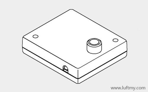 微尘传感器模块矢量图