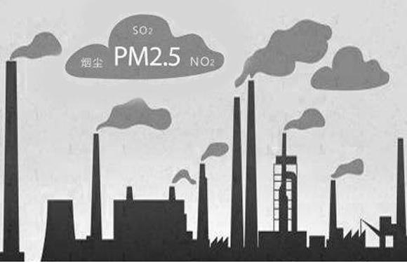 PM2.5空气污染物来源
