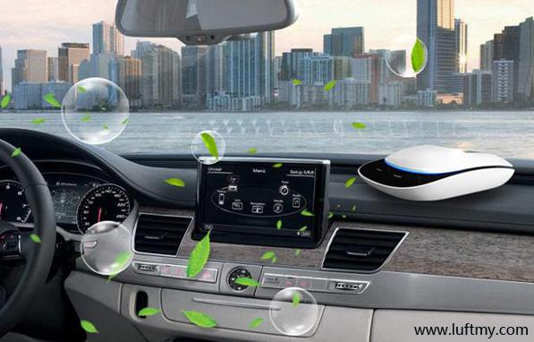 车内空气环境净化器