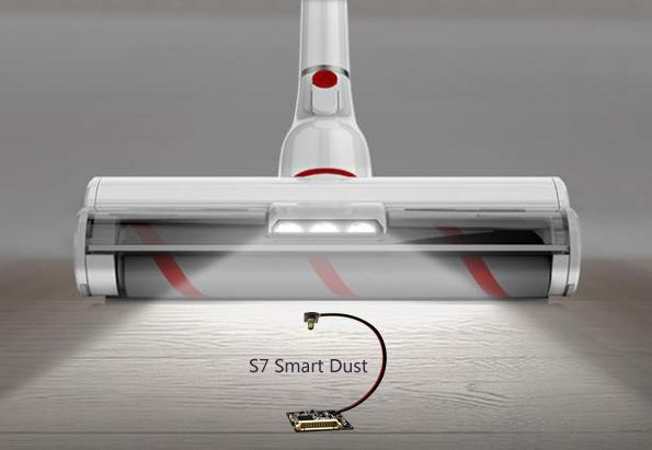 内置洁净度粒子传感器微尘传感器的吸尘器