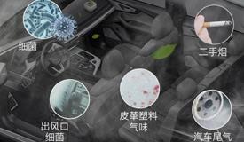 车载空气净化器中的空气质量传感器