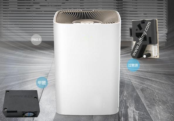 内置粉尘传感器的空气净化器
