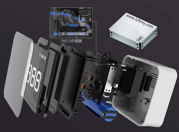 内置PM2.5传感器的颗粒物监测仪