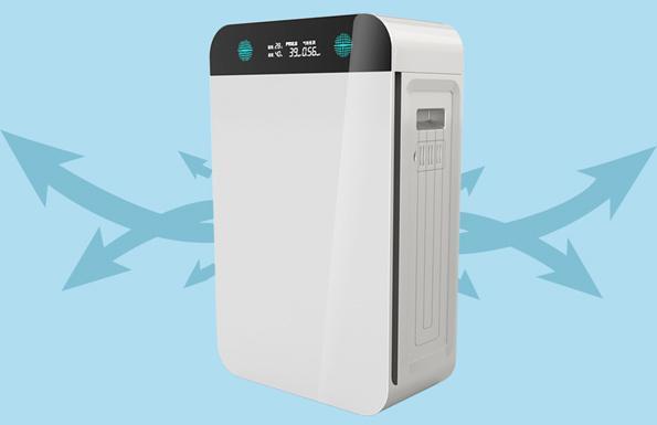 内置PM2.5传感器的空气净化器