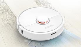 吸尘器和扫地机器人的区别?微尘传感器实时显示灰尘洁净度