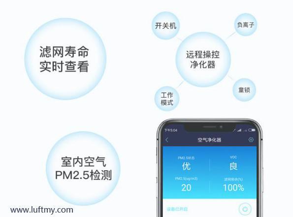 空气净化器手机远程控制APP