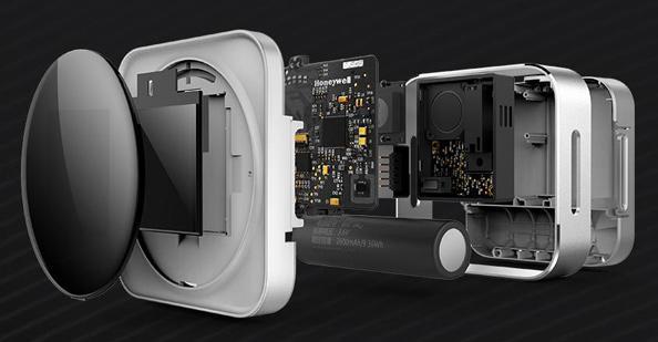 便携式PM2.5检测仪结构