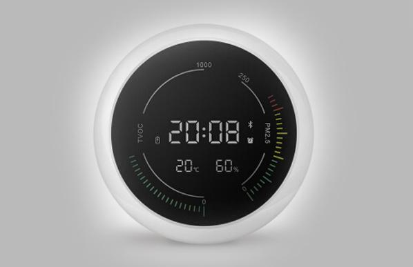 内置PM2.5传感器的环境检测仪