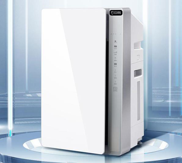 内置激光数字式颗粒物浓度传感器的空气净化器