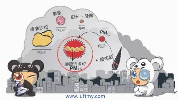 PM2.5和PM10污染