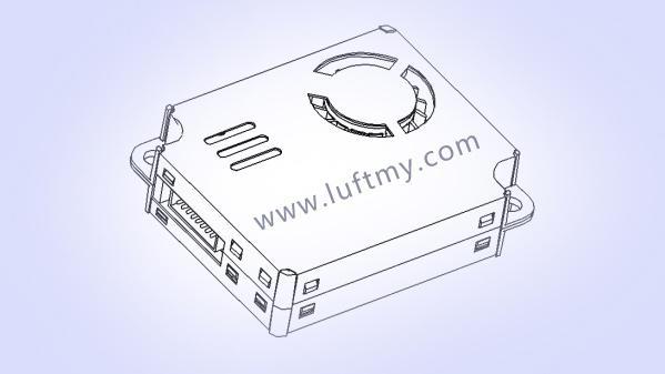 气体传感器厂家激光粉尘传感器LD15-勒夫迈LUFTMY