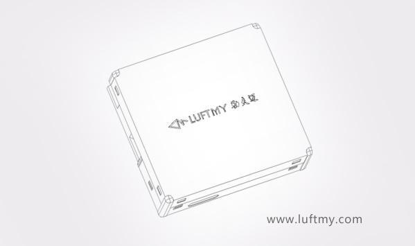 激光粉尘传感器矢量图-勒夫迈LUFTMY