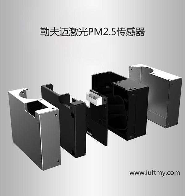 激光PM2.5传感器结构图-勒夫迈LUFTMY