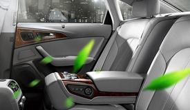 激光颗粒物传感器监测车内空气质量