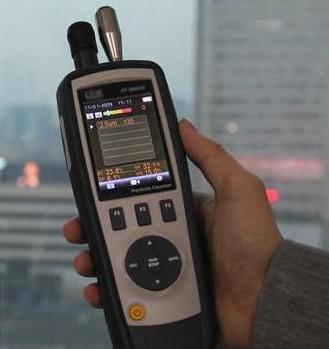 粉尘传感器在手持空气检测仪的应用-勒夫迈