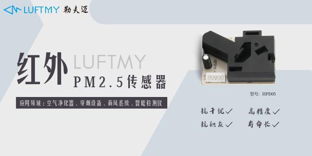 PM2.5的测试方法及PM2.5传感