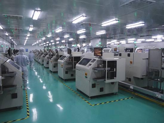 灰尘传感器用于半导体集成电路生产洁净室