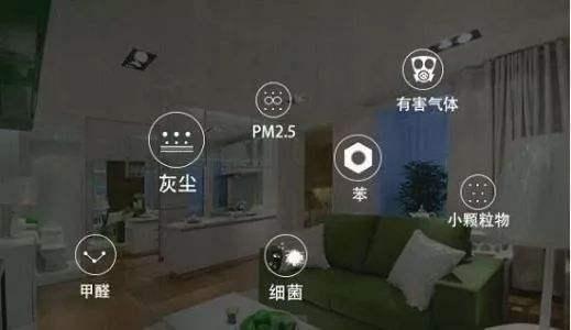 智能化环境监测设备上的PM2.5传感器