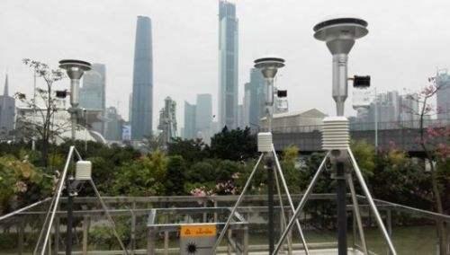 PM2.5颗粒物传感器用于监测公共设施大气环境状态