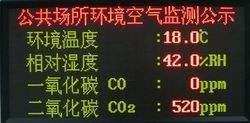 PM2.5传感器用于公共设施大气粉尘监测